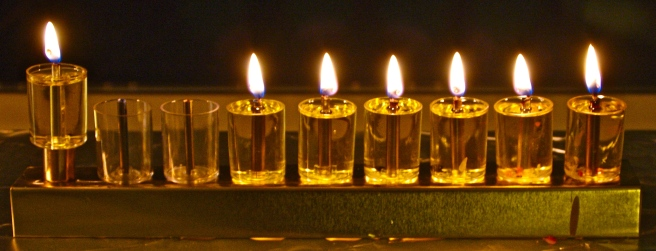 Image result for image of 6th night of Hanukkah