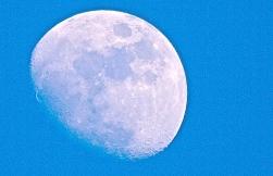 31/365: Silvery moon.